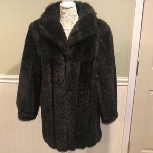 Luxurious Faux Mink Coat by Style VI Ltd